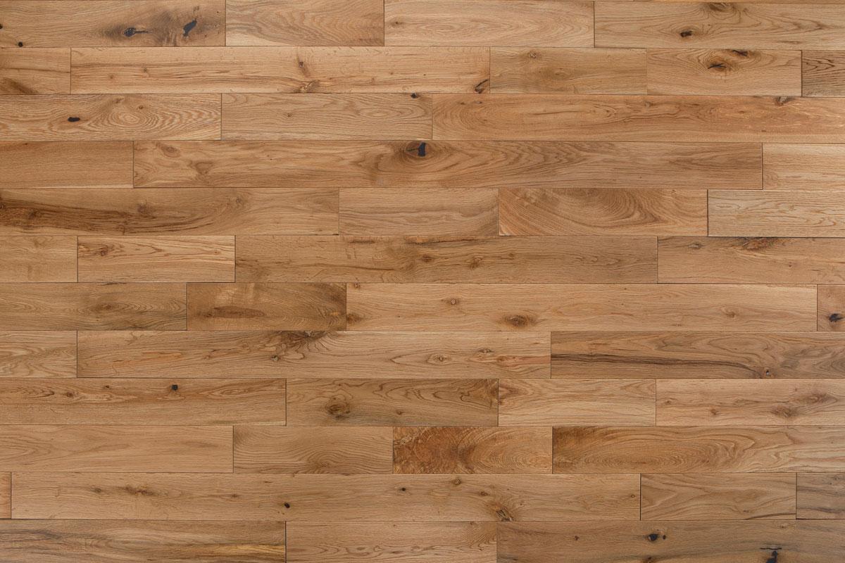 Mega Deal Solid European Rustic Oak Flooring 18mm X 83mm